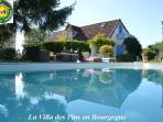 Location maison avec piscine privée Gites de France 3 épis en Bourgogne