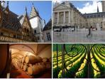Visite de Dijon, Auxerre, Nevers et les vignobles de Bourgogne