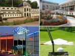 Stations thermales et de thalassothérapie de Bourbon Lancy en Saône et Loire et St Honoré les bains