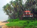 A view of Ocean Hues Beach House & its scenic surroundings