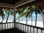 A view of the sea from the balcony of the bedroom