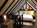 Comfortable double bedroom in the Lodge