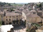 Famous St Emilion and a must for wine enthusiasts!