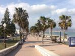 aguadulce promenade and beach