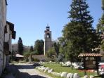 Bansko Old Town clock tower