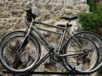 FOR ANY STAY OF ONE WEEK OR OVER, THE BIKE RENTAL IS COMPLIMENTARY.