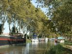 The canal du midi near Homps