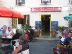 Village bar, just 20 minute leisurely stroll (or stagger) from Chez John!