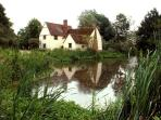 Willy Lotts cottage at Flatford which can also be walked to