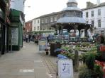 North Walsham market day