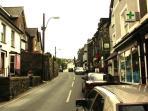 Harlech High Street.