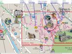 Tous les commerces et services à deux pas dans un centre historique !...historical shopping center !