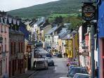 Colourful Main Street in Dingle, on your doorstep.