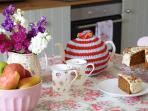 Delicious afternoon tea awaits you