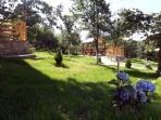 Casa Zollo, northern garden (Casa Vale, Sibiu, Transylvania, Romania)