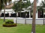 Coconut Restaurant amidst lush gardens