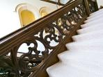 The majestic oak staircase
