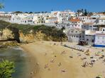 Carvoeiro village beach