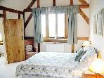 Master Bedroom, vaulted oak ceiling, views to die for and en suite