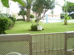 Direct access via gate to the garden and pools from your own balcony