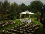 ideal for ceremonies and receptions