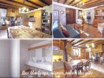 Les Andreys, gîte 'le tavaillon', cuisine-séjour et salon