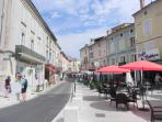 Cafe culture in French villages