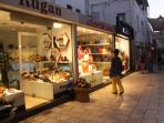 Midnight shopping in fashionable Bodrum Stores