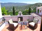 Villa Romana balcony terrace