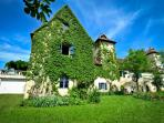 Manoir XVIth century with scenic view - Le Castellou gite