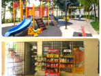 Children playground and convenience store available at ground floor of the condominium
