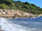 les plages de la côte d'Azur à 12kms