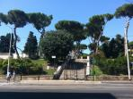 Colle Oppio is the 'Parco di Nerone', in front of the Hotel, is available for Jogging, pictures, etc