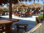 1 of the Beach Bars during high season
