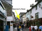 Mariners Rest in the heart of the town