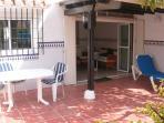 terraza a Jardín interior