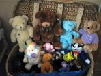 Toys and teddies