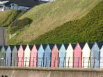 Beach Huts, Mundesley Beach