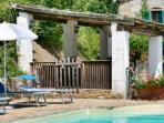 pool and capanna area