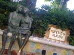 muretto degli 'innamorati' Alassio