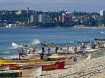 Surf Life Saving Boats on Manly Beach