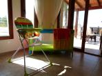 Cot & Highchair available on request