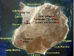 Map of Boa Vista Beaches (Apt overlooks Cabral Beach, North of Sal Rei town)
