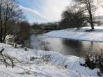 Our river in winter