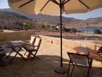 Cohili Villa Halki View to the village
