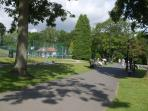 Harrogate, play tennis or crazy golf in the valley gardens.