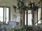 Special and privet dinner in the Main House