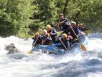 Rafting with H20 in Landry - Peisey Vallandry