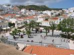Square in Old Town Albufeira
