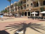 Los Alcazares plaza area